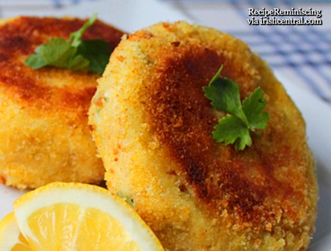 Traditional Irish Cod Fish Cakes