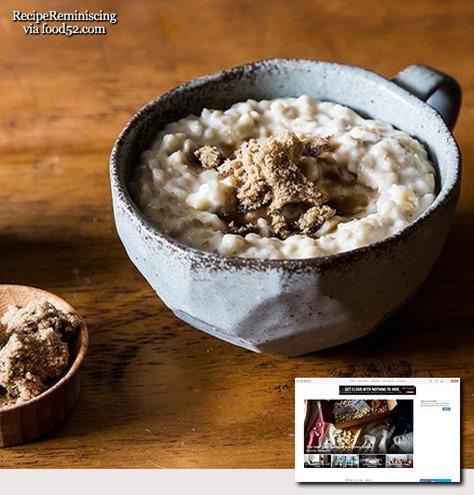 English Porridge / Engelsk Havregrøt