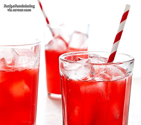 Fermented Raspberry Soda