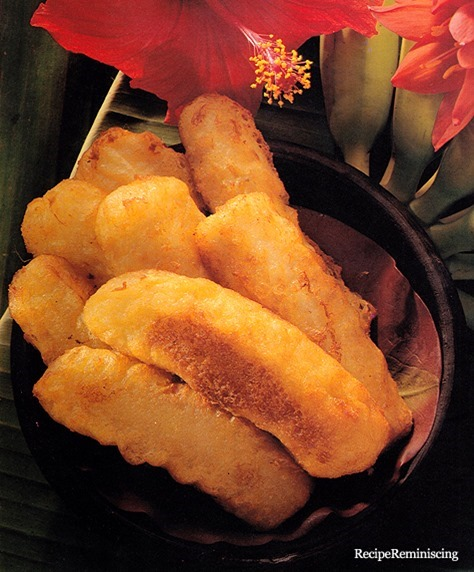 Pisang Goreng - Indonesian Fried Bananas