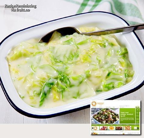 Homemade Stewed Cabbage / Hjemmelaget Stuet Kål