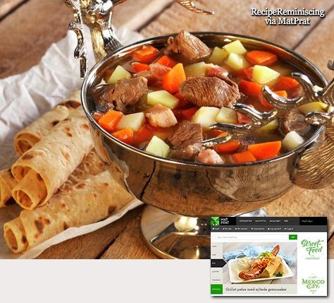 Meat Soup with Oatmeal / Kjøttsuppe med Havregryn