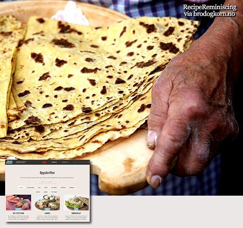 Potato Lefse / Potetlefse