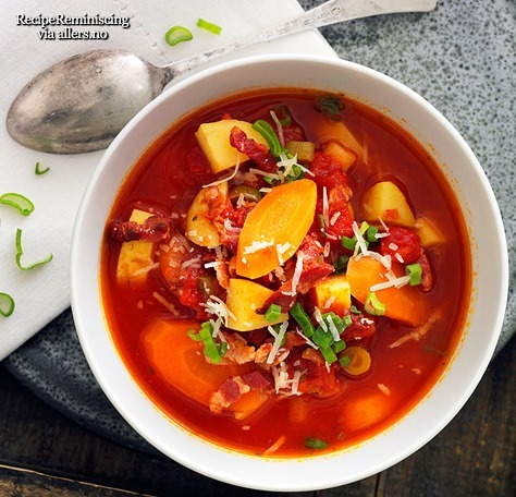 Spicy Bacon and Potato Soup