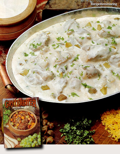 Lamb in Yogurt Sauce / Lam i Yoghurtsaus
