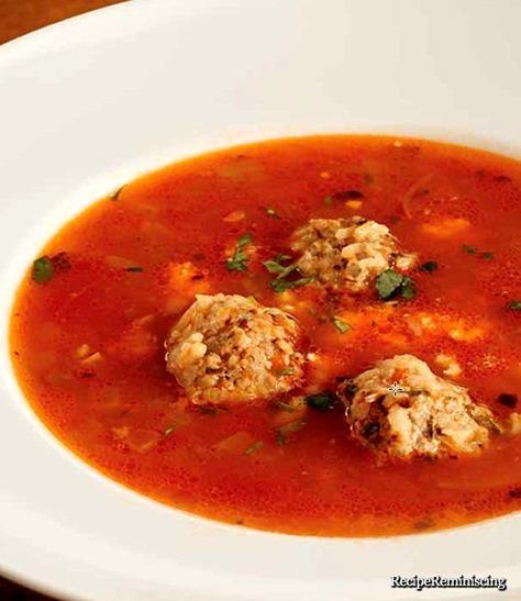 Albondigas - Meksikansk Suppe