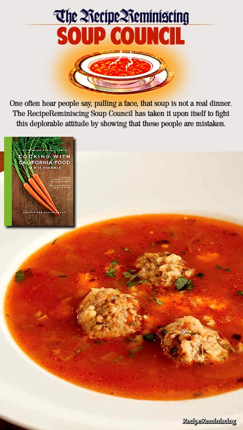 Albondigas – Mexican Soup / Meksikansk Suppe