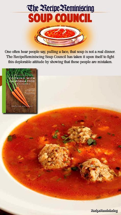 Albondigas – Mexican Soup / Meksikansk Suppe