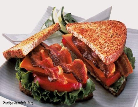 BLT Sandwich med Ost