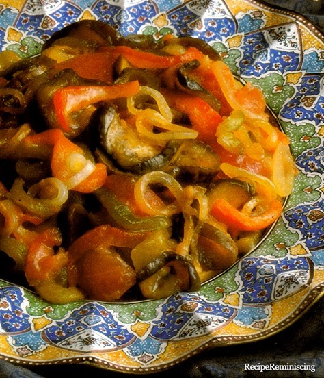 Chakchouka - Spicy Vegetable Mix