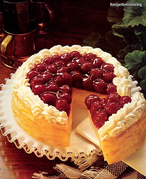 Cherry Cream Stack