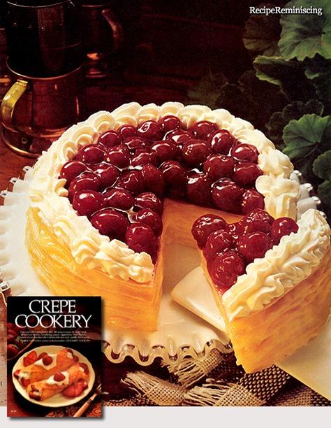 Cherry Cream Stacks / Kirsebær- og Kremstabler