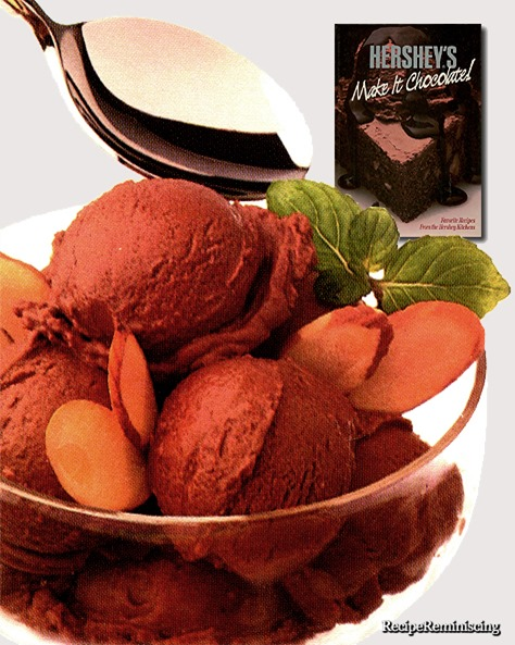 Chocolate-Amaretto Ice Cream / Sjokolade og Amaretto Iskrem