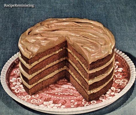 Butterscotch Cream Dessert Cake