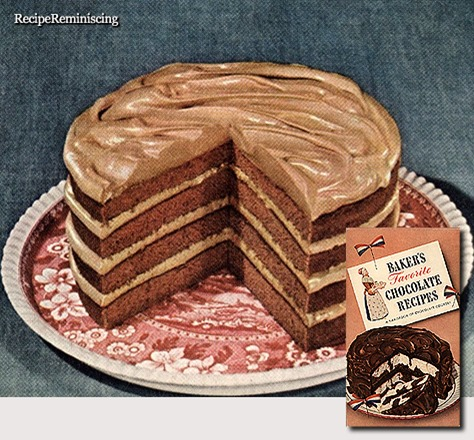 Butterscotch Cream Dessert Cake / Dessertkake med Karamellkrem