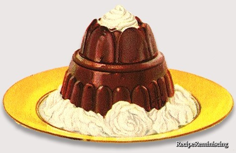 Sjokoladepudding anno 1927
