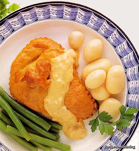 Dijon-Kylling en Croûte
