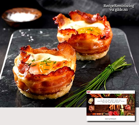 Egg and Bacon Muffins / Egg- og Baconmuffins