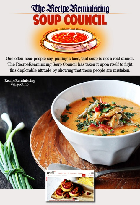 Easy Thai Chicken Soup with Coconut Milk / Enkel Thai Kyllingsuppe med Kokosmelk