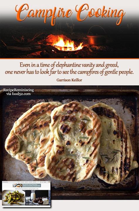 Grilled Flatbread / Grillede Flate Brød