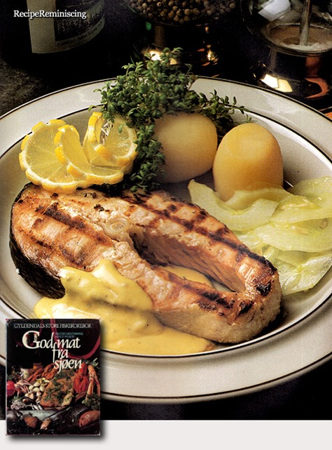 Grilled Salmon Slices / GriIlede Lakseskiver