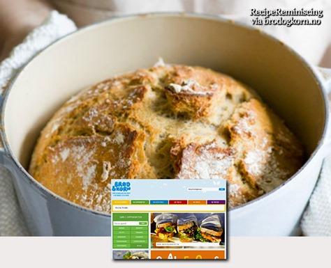 Wholemeal Pot Bread / Grovt Grytebrød