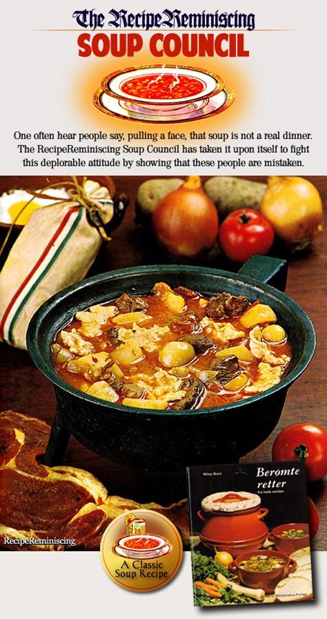 Gulyás-Soup / Gulyás-Suppe