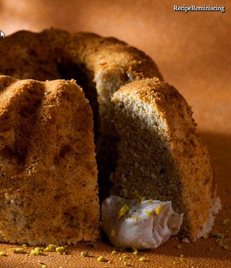 Lemon and Earl Grey Chiffon Cake