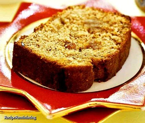Dairy-Free Marzipan Tea Cake