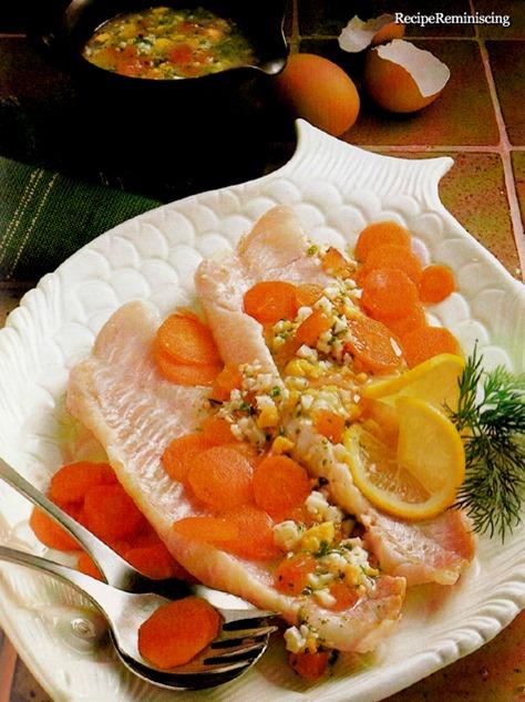 Norwegian Cod with Egg Sauce