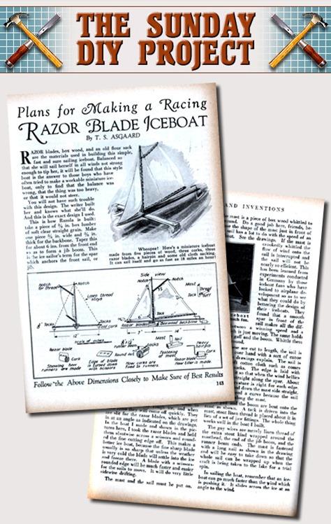 Razor Blade Iceboat