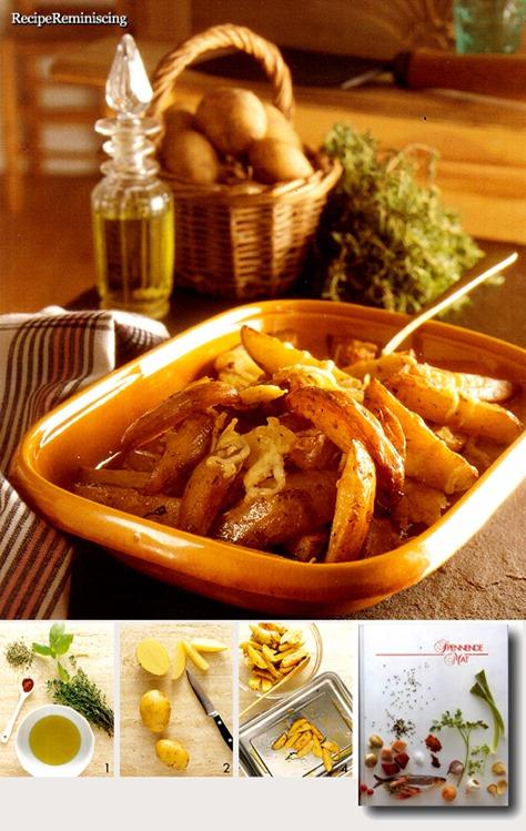 Crispy Potato Wedges / Sprø Potetbåter