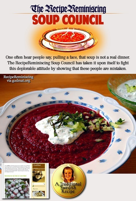 Swedish Beet Soup / Rödbetssoppa