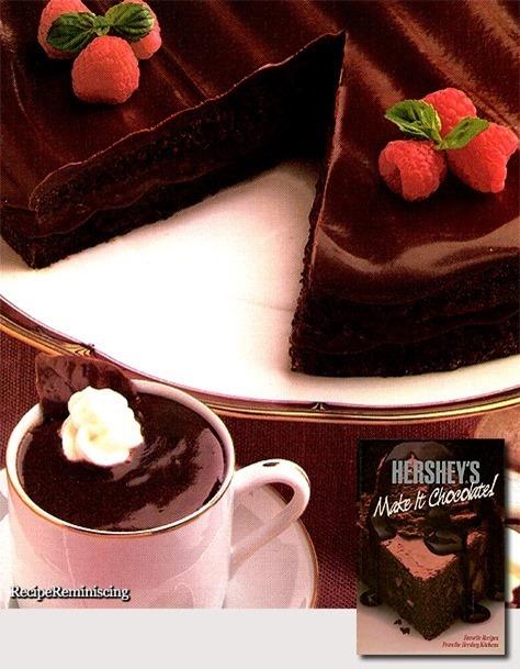 All-Chocolate Boston Cream Pie & Chocolate Pots de Creme