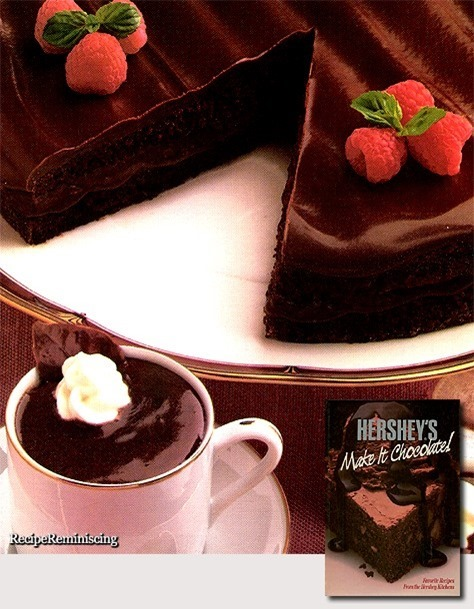 All-Chocolate Boston Cream Pie & Chocolate Pots de Creme
