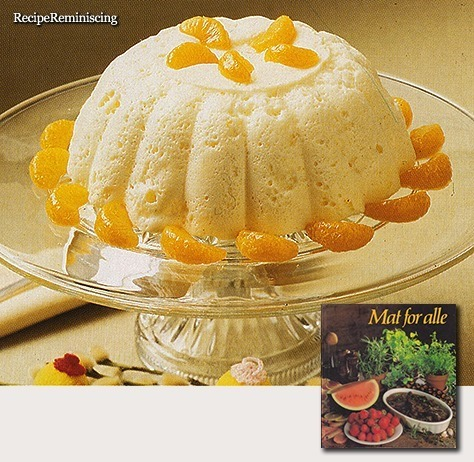 Orange Mousse / Appelsinfromasj