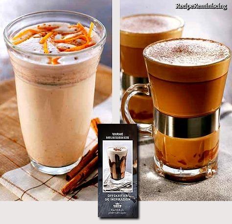 Orange and Cinnamon Drink & Cocoa with Ginger / Appelsin og Kaneldrikk & Kakao med Ingefær