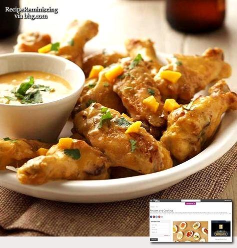 Bangkok Chili Wings / Chilikrydrede kyllingvinger fra Bangkok