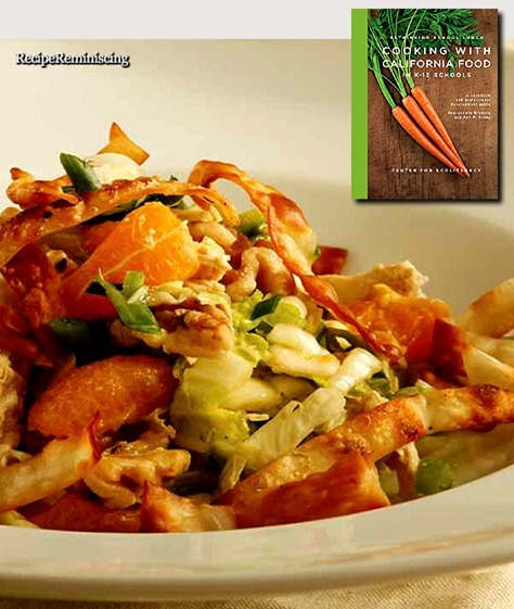 Chinese Chicken Salad / Kinesisk Kyllingsalat