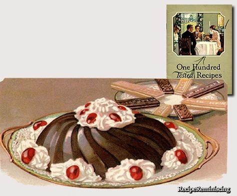 Chocolate Blanc Mange / Sjokolade Blanc Mange