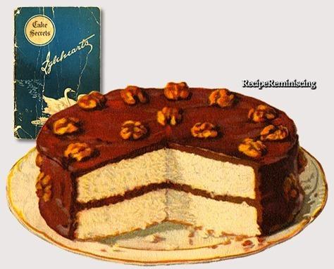 Chocolate Layer Cake / Lagkake med Sjokoladeglasur