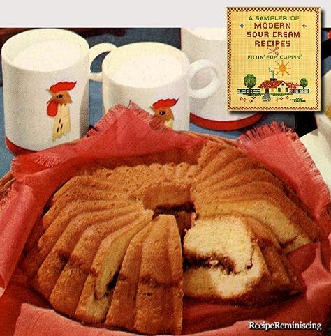Cinnamon Coffee Cake / Kaffekake med Kanel