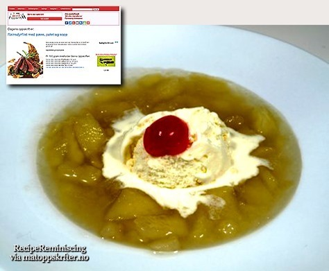 Apple Soup From Western Norway / Eplesuppe Fra Sogn