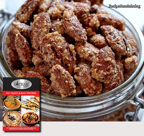 Fragrant and Spiced Pecans