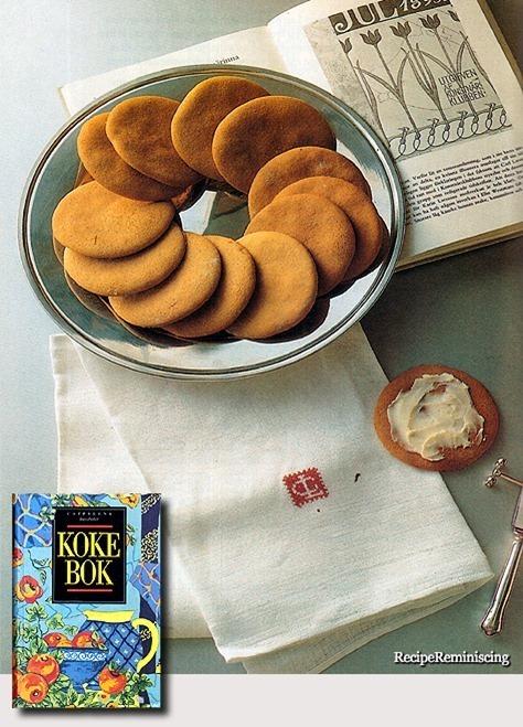 Karin's Soft Syrup Cookies / Karins Myke Sirupskaker