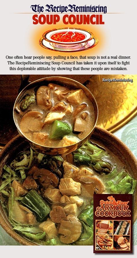 Oriental Turkey Soup / Orientalsk Kalkunsuppe