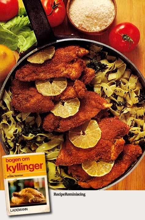 Breaded Chicken Schnitzels / Paneret kyllingeschnitzel