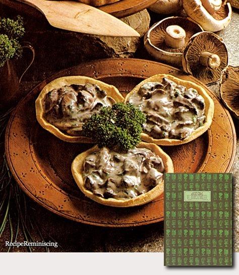 Mushrooms in Tart Shells
