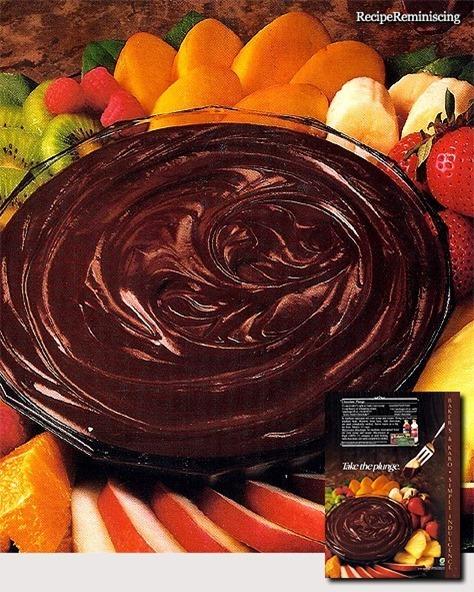 Chocolate Plunge / Sjokolade Dip