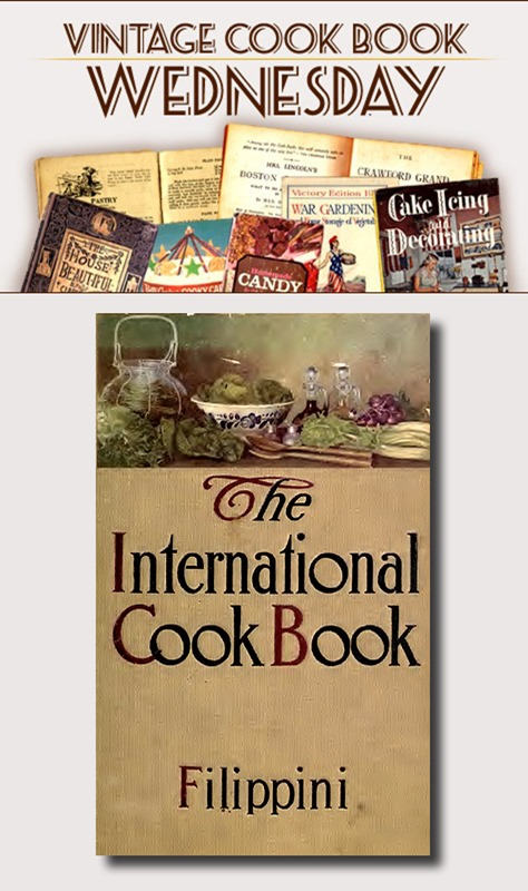 """The International Cook Book"" by Alexander Filippini"